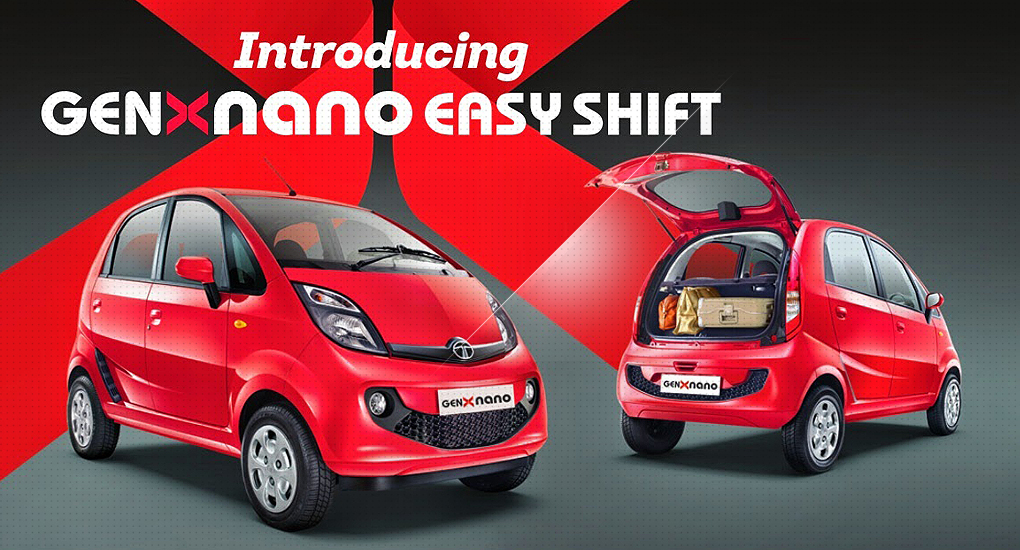 Tata Nano Easy Shift