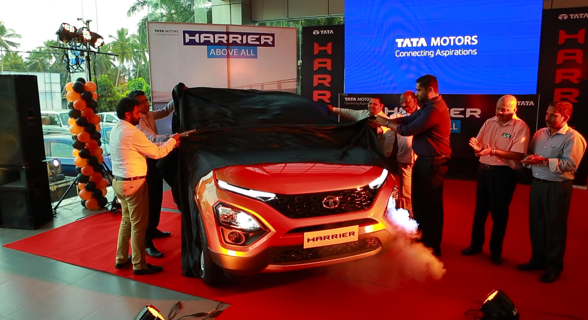 Revealing TATA HARRIER